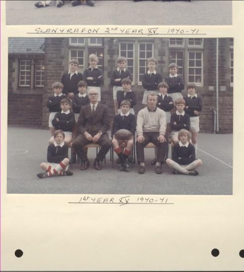 Glanyrafon School 1970 to 1971