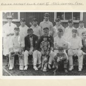 Blaina Cricket Club First XI 1930s Central Park