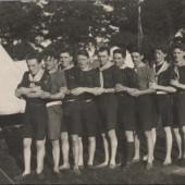 Brynmawr Scouts at Wembley, 1924