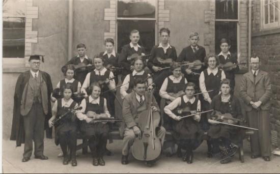 Brynmawr County School Orchestra, 1939