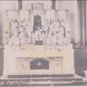 The Altar at St. Mary's R.C. Church, Brynmawr.
