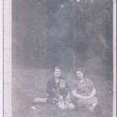 Mrs. Rossi, Mrs. Carini and Marco Carini in about 1940.