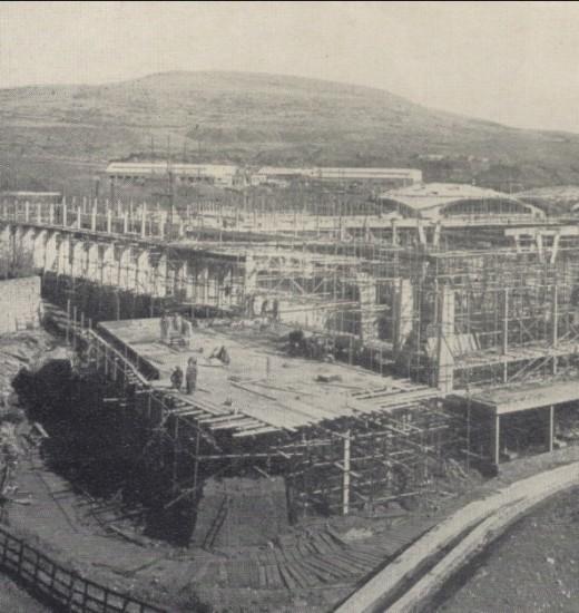 Semtex during construction