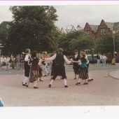 Dancing on Brynmawr Market Square