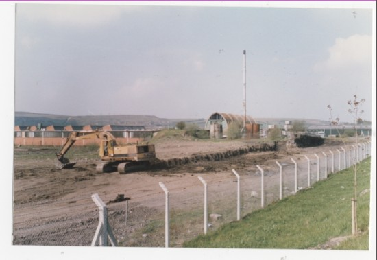 Demolition of Semtex Factory, Brynmawr