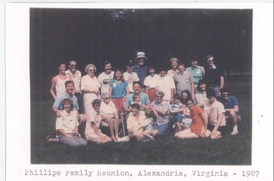 Family reunion,Alexandria,Virginia.