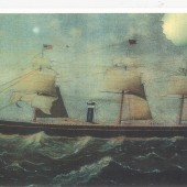 City of Montreal on which David C. Phillips and younger brother Seth sailed from Liverpool to New York City