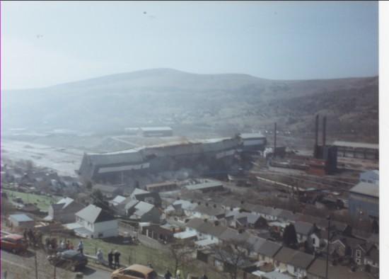 Steel Works Ebbw Vale