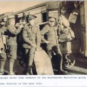 Brecknock Regt., Brynmawr Soldiers