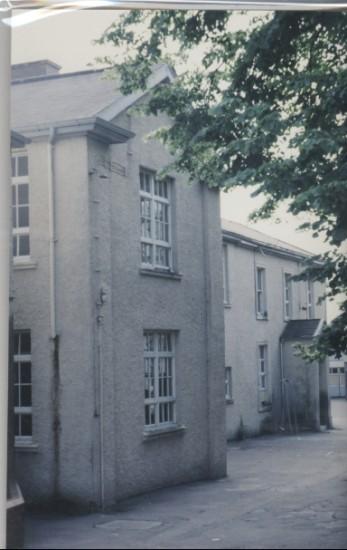 Hafod  y Ddol Grammar School Front Entrance