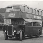Griffin's Bus at Abergavenny Station