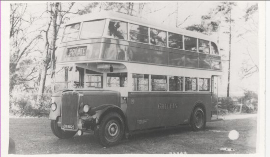Griffin's Bus, before 1950