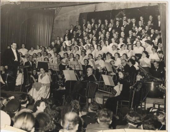 Concert in Market Hall?