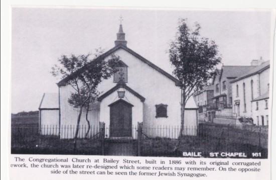 Bailey Street Congregational Church, c. 1890