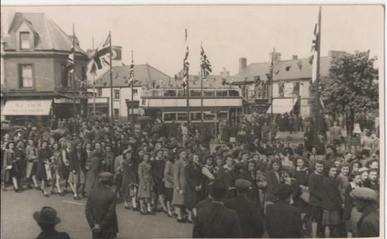 Victory Parade, 1945