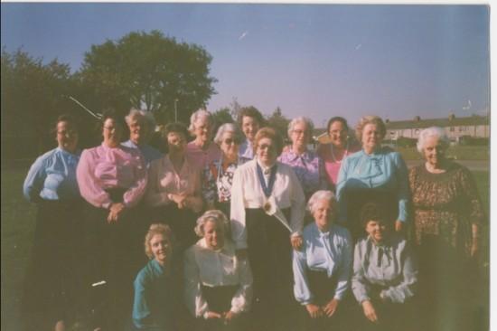 Chairwomen of the Townswomen's Guild, 1978