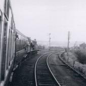 Last Train from Abergavenny entering Brynmawr Station