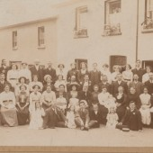 Bethesdad Choir Outing Llangorse 1913