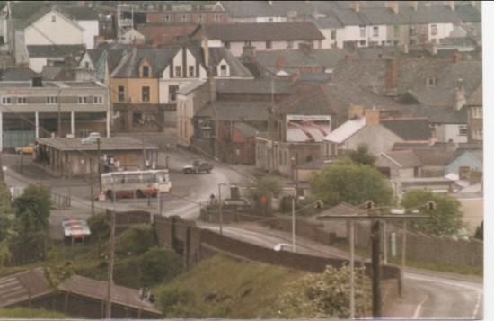 Brynmawr Bus Station, 1980s