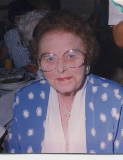 Edith Bythell in Blackpool