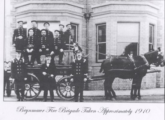 Brynmawr Fire Brigade 1910