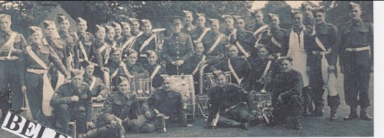 3rd.Mons Band in Ireland 1939 1941