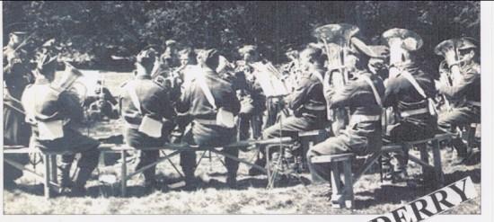 3rd,Mons Regimental Band giving a concert inLondonderry Park Ireland