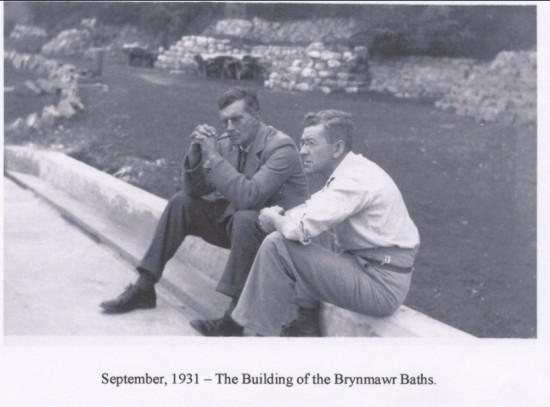 Building of the Brynmawr Baths