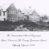 Brynmawr Intermediate School Later to become Brynmawr County Grammar School ,now the site of St.Mary's V.P School
