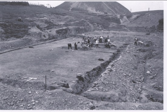 Building of Brynmawr Baths june.1931