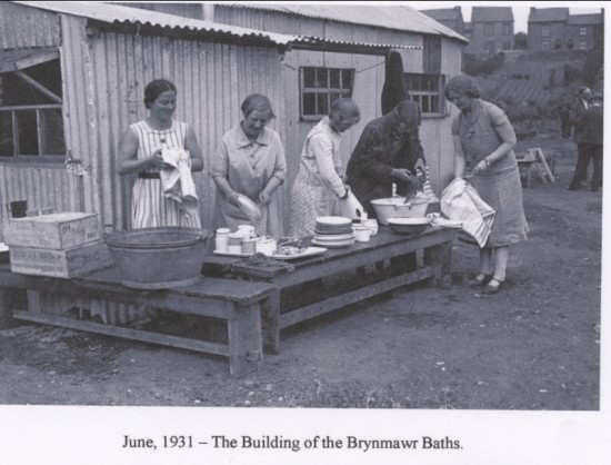 Building of Brynmawr Baths