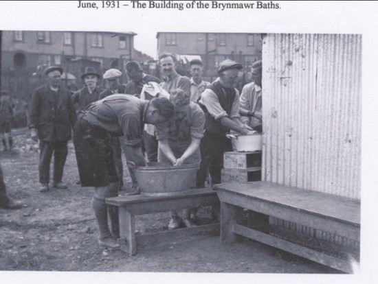 Building of Brynmawr Baths