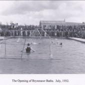 Brynmawr Baths Opening July 1932