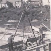 Brynmawr Baths Filtration Plant installlation May 1939