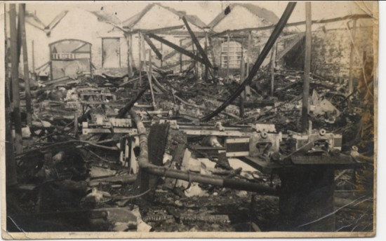Brynmawr Furniture Factory Fire