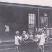 Brynmawr Nursery Pupils playing 1934