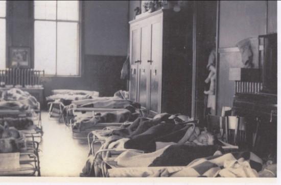 Brynmawr Nursery (Pupils sleeping) 1934