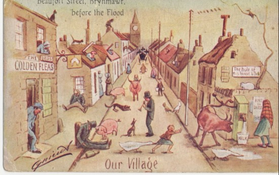 Beaufort Street (our village) Brynmawr