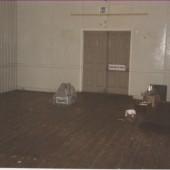 Interior of Old Ambulance Hall Well St., Brynmawr