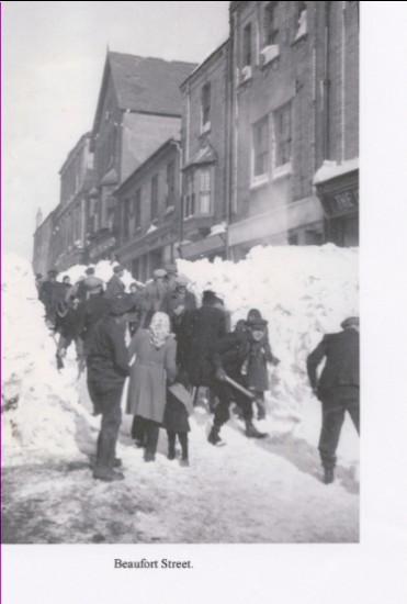 Blizzard of 1947 Brynmawr
