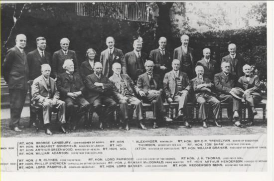 Labour Cabinet 1929