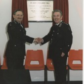 Opening of the new Ambulance Hall Well St.,