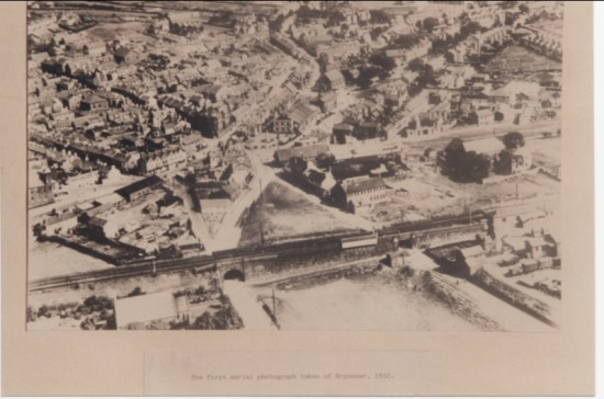 First aerial photograph of Brynmawr