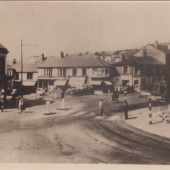 Market Square Brynmawr 1950s