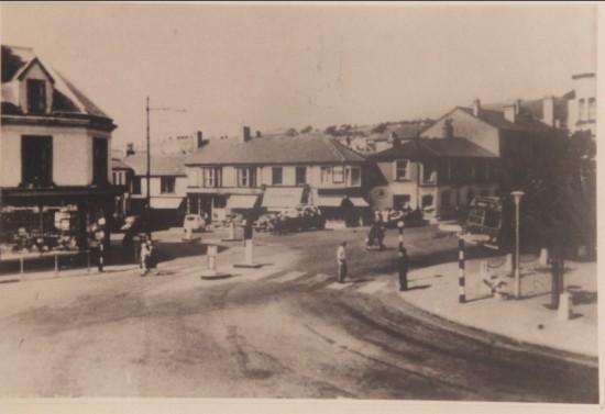 Market Square Brynmawr 1950s