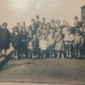 Brynhyfryd Avenue Party  End of World War Two 1946