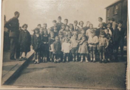 Brynhyfryd Avenue Party  End of World War Two 1946