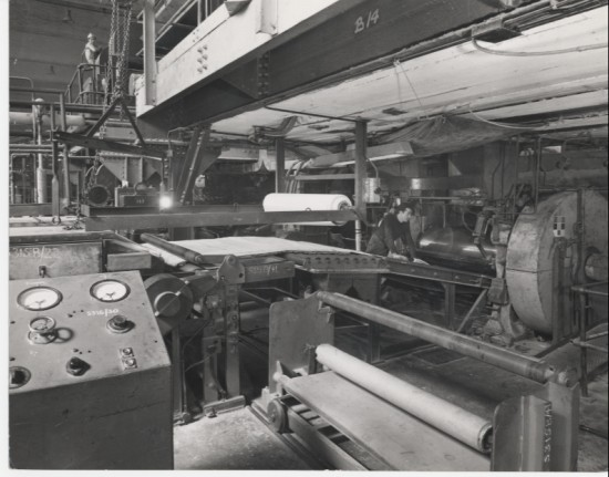 Semtex factory Main rolling mill