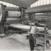 Semtex factory main rolling mill area