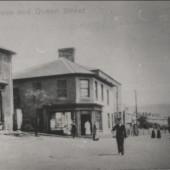 Garn Cross and Queen St., Nantyglo
